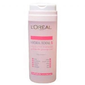L'Oreal Hydra-Total 5 Velvety Toner 200ml - Pink Bottle
